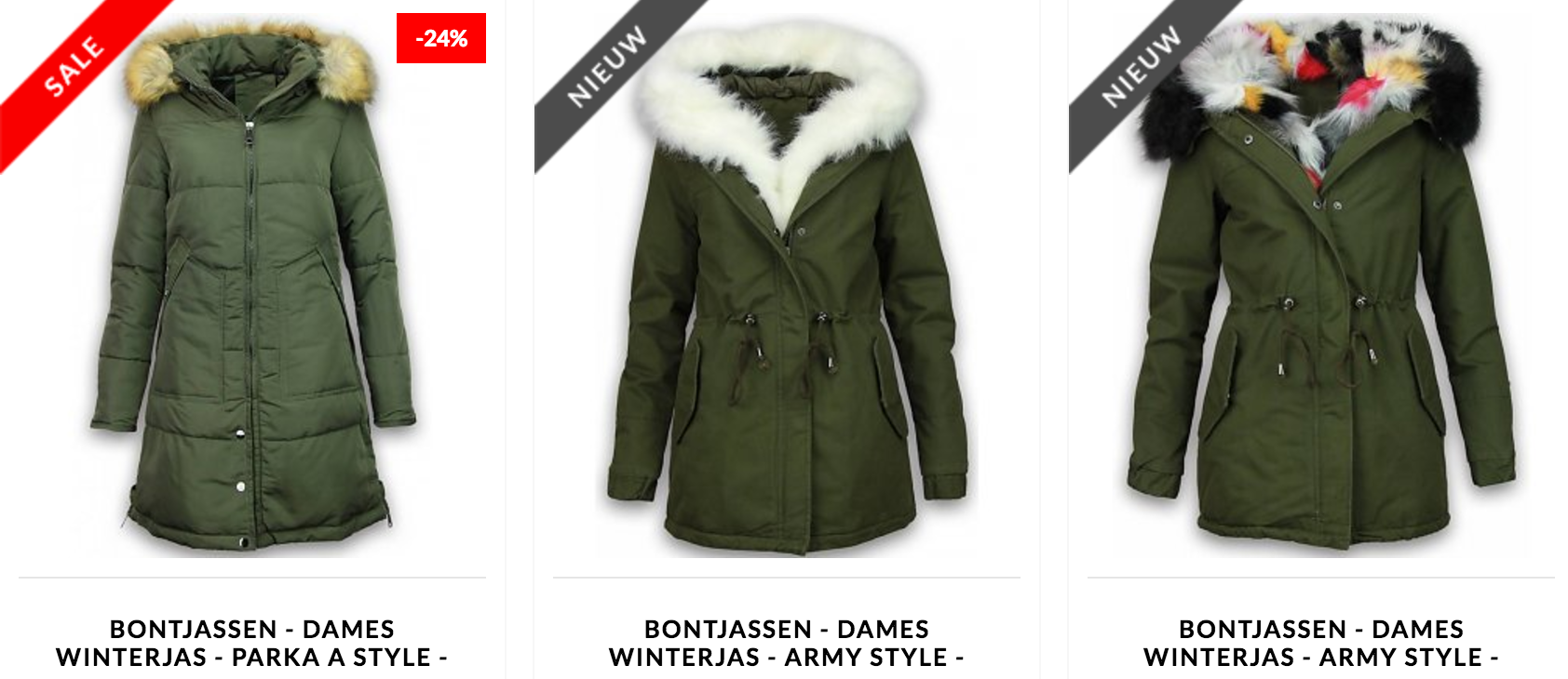Dames Winterjassen