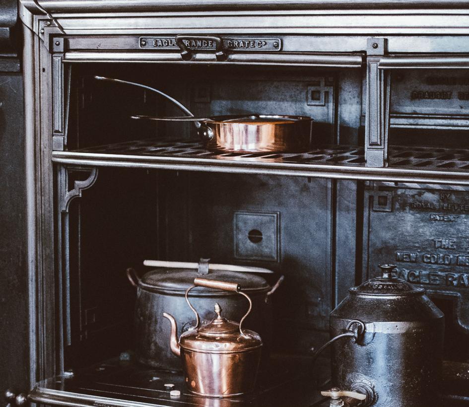 koken met koper