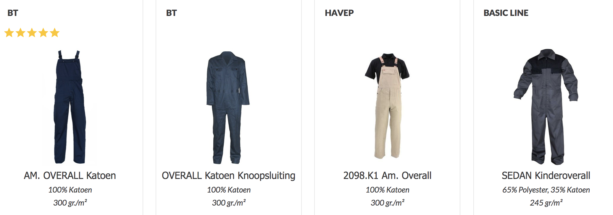 Havep overall