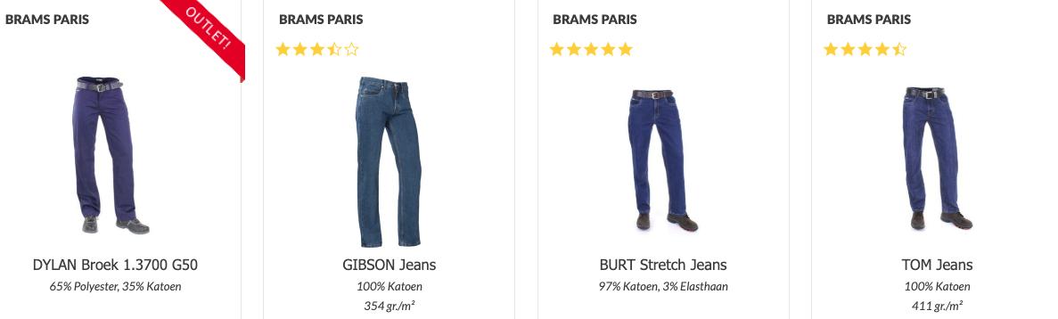 Brams Paris werkbroeken