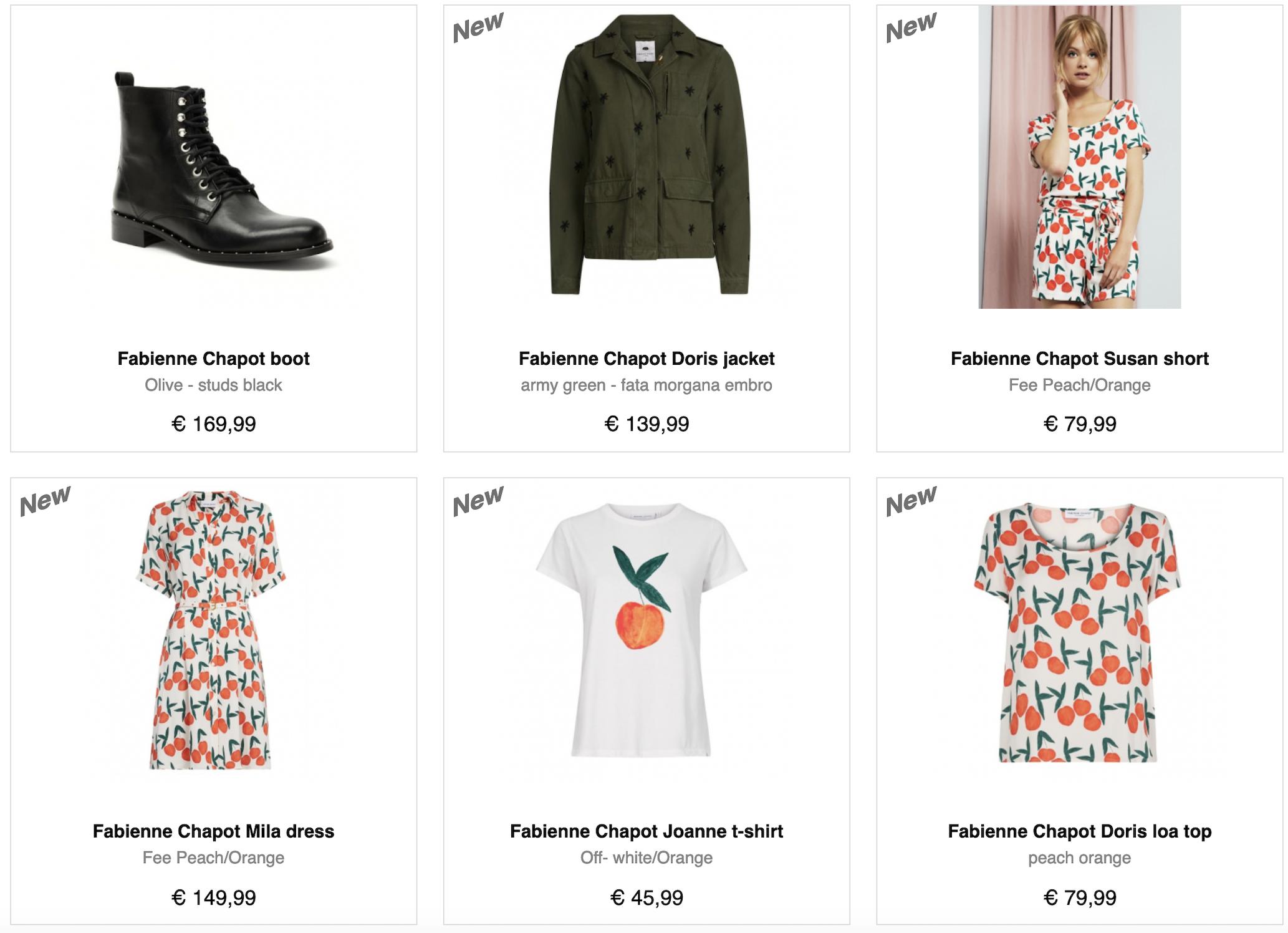 Fabienne Chapot kleding