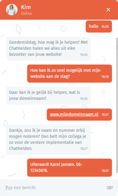 live chat service voor websites